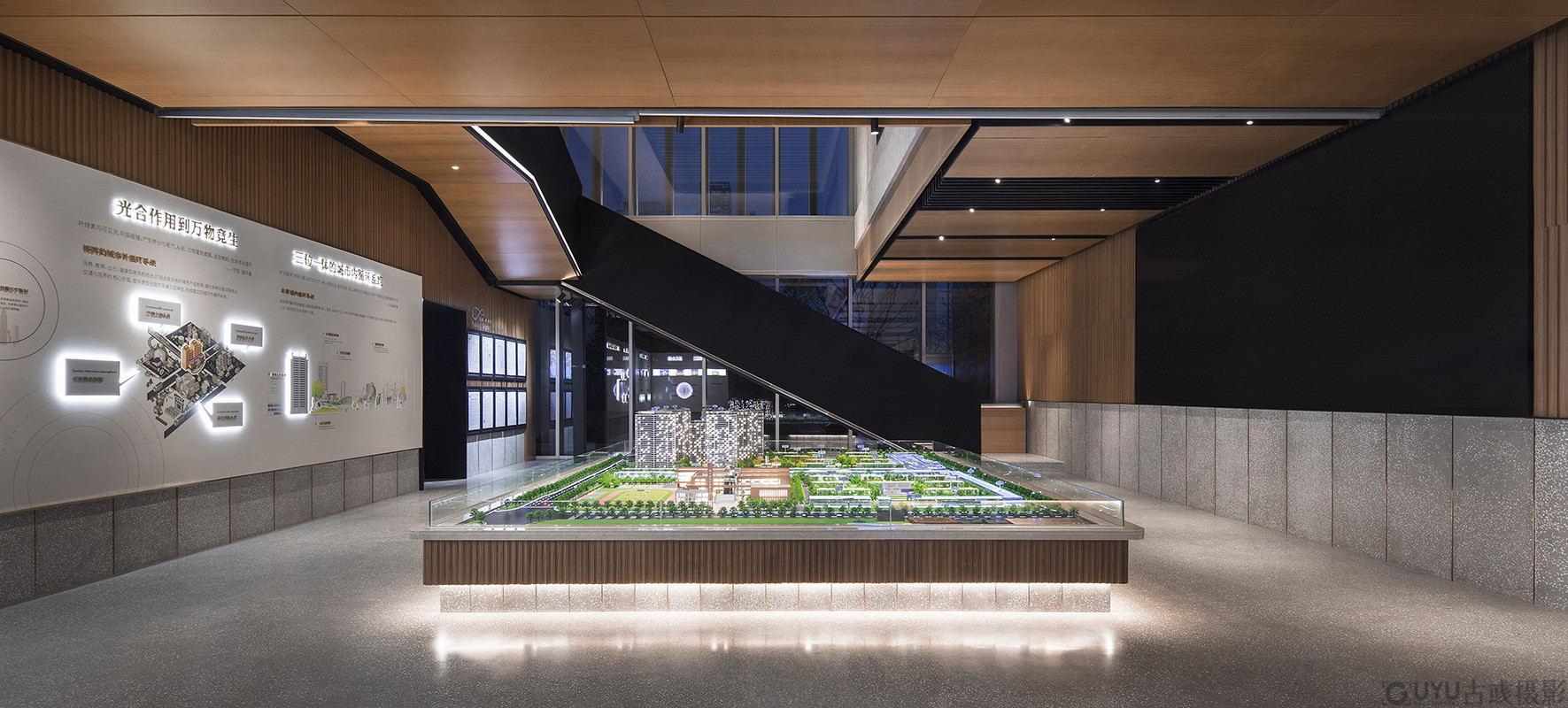 万科未来城售楼处拍摄-南京-古彧摄影公司