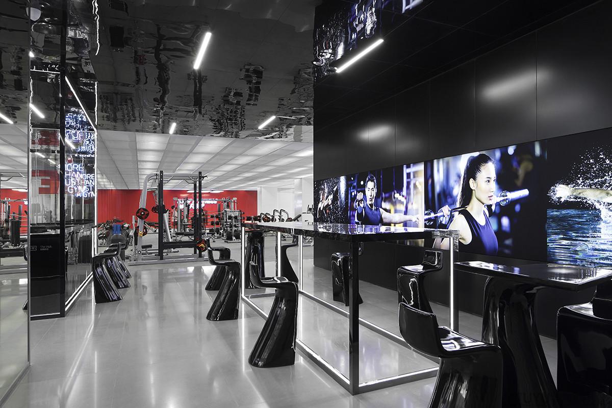 中骏健身房室内空间摄影-上海古彧拍摄公司