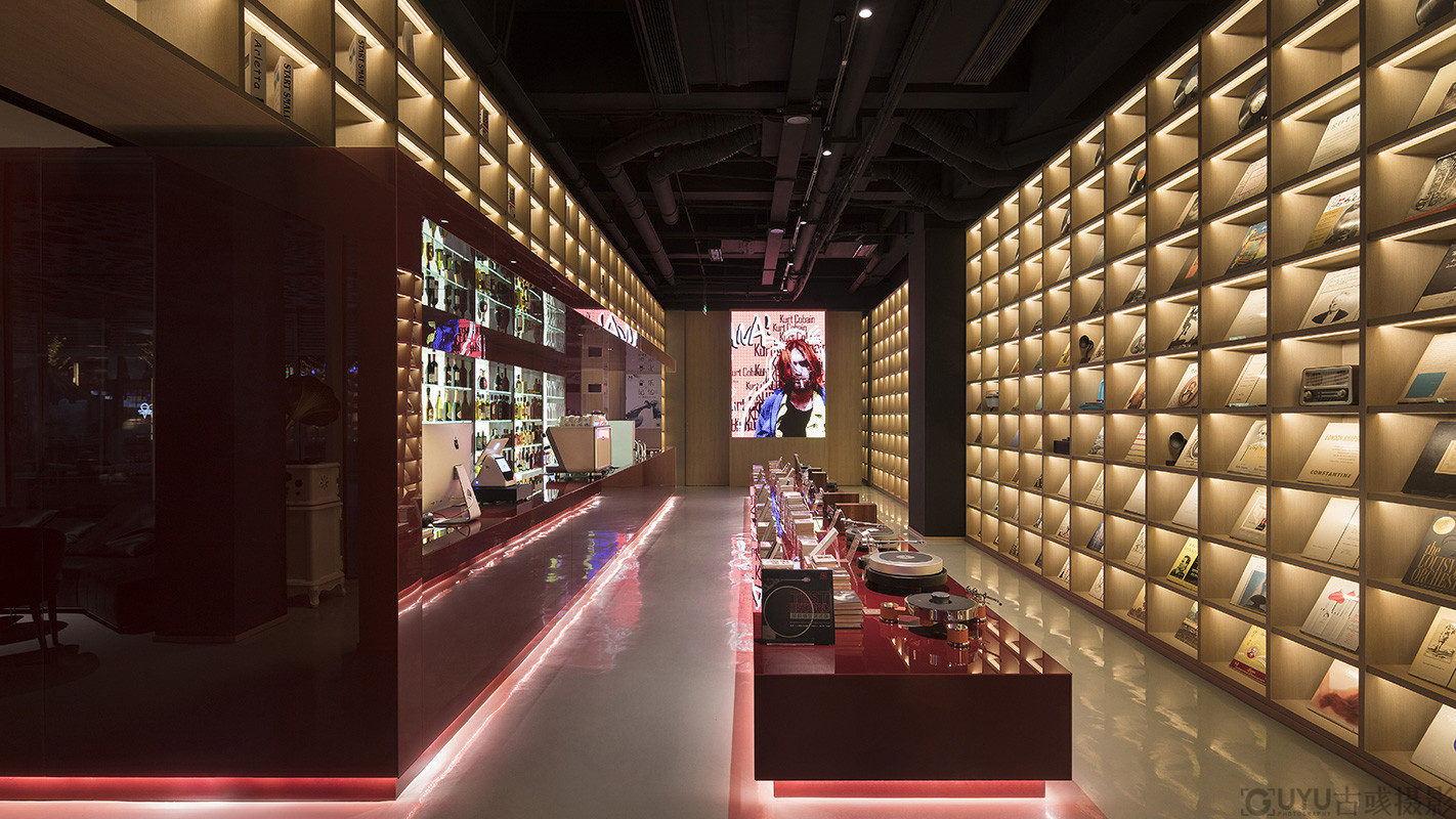 黑胶唱片店空间摄影-杭州-古彧摄影公司